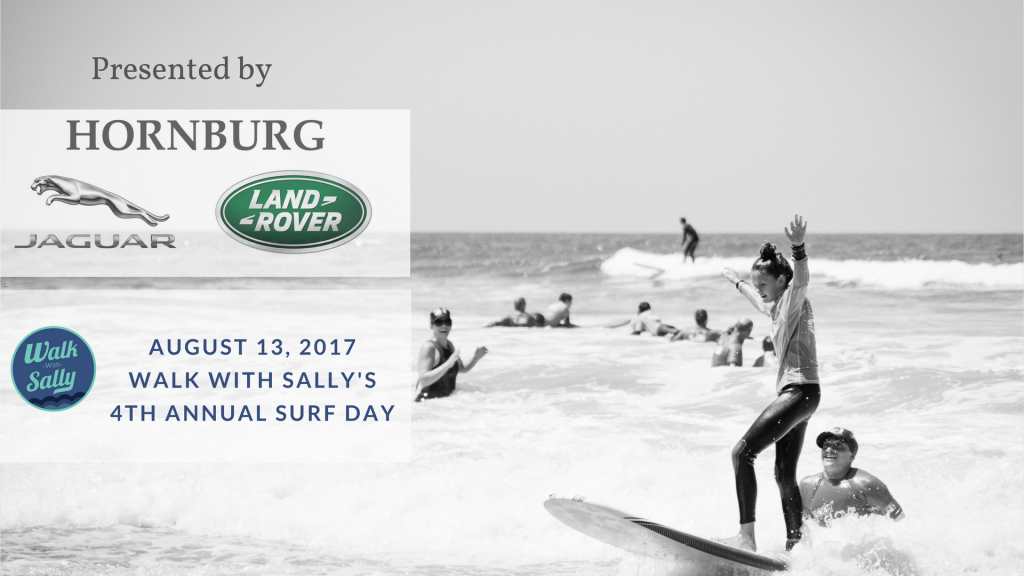 walk with sally's 4th annual surfing event