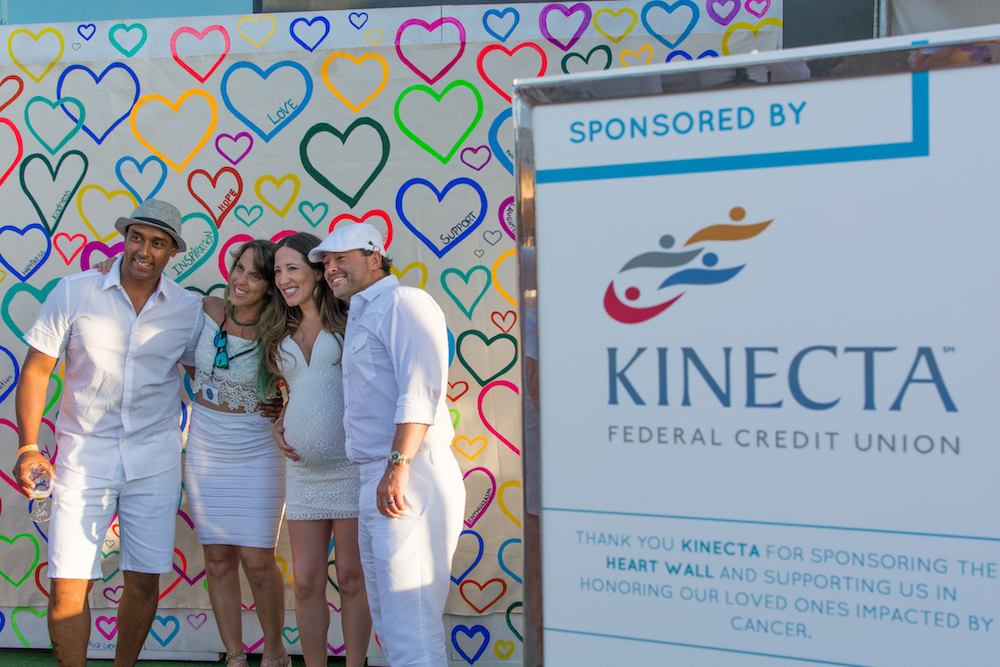 Kinecta sponsored art installation at White Light White Night 2017