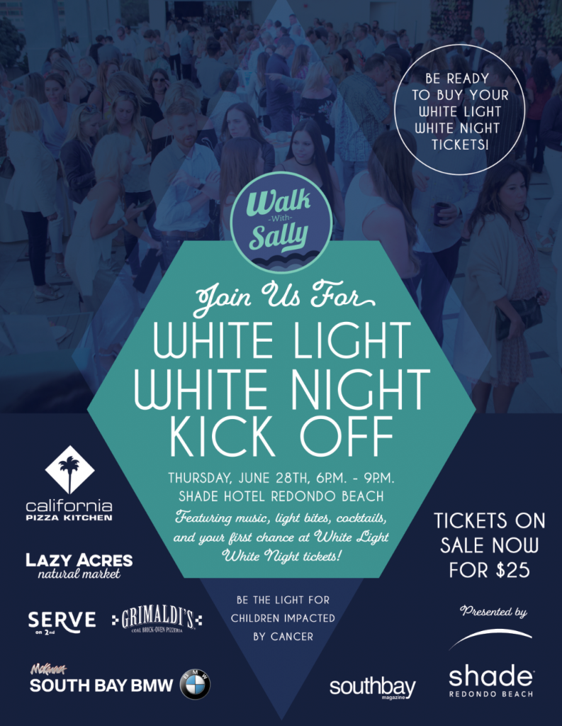 White LIght White NIght Kick Off Event Thursday, June 28th 6PM - 9PM at Shade Hotel Redondo Beach