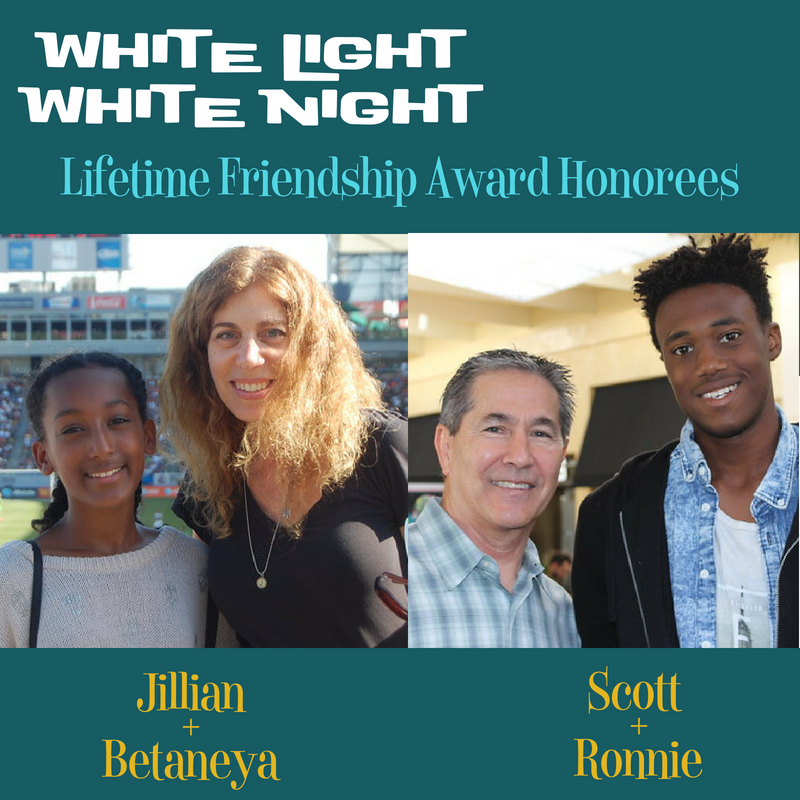 Photo of Lifetime Friendship Award Honorees Jillian and Betaneya and Scott and Ronnie