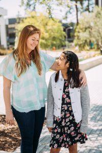 Mentor and Mentee Friendship Grey & Naomi