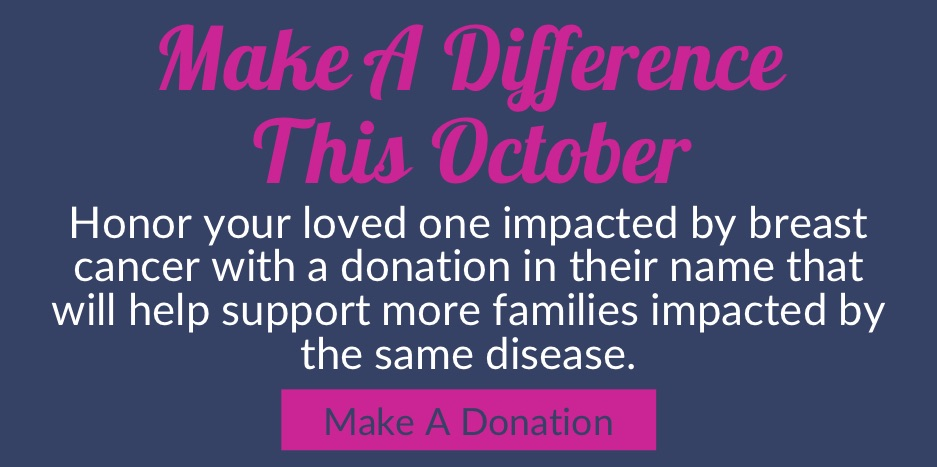 Make A Difference by making a donation today