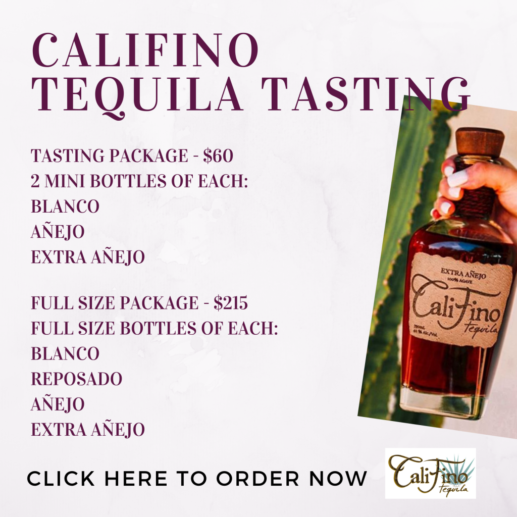 Califino Tequila Tasting Description