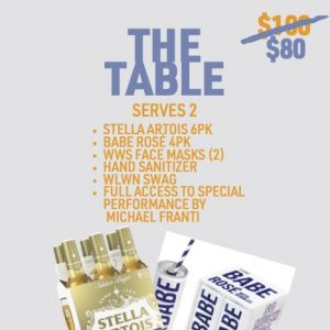The Table Promo Price